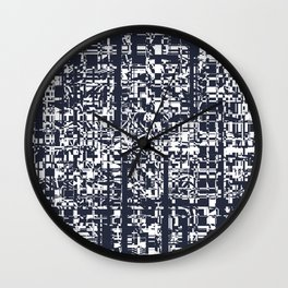 Abstract background 38 Wall Clock