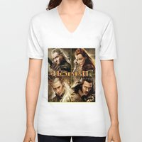 the hobbit V-neck T-shirts featuring Hobbit by custompro