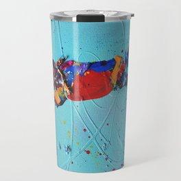Rooted 1 by Nadia J Art Travel Mug