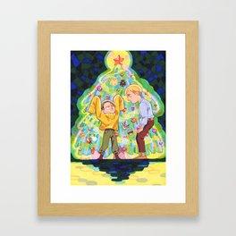 Grow Big Framed Art Print