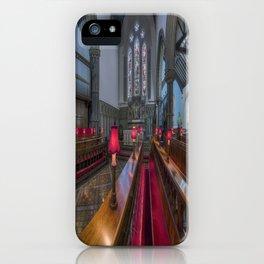 Choir Hymns iPhone Case