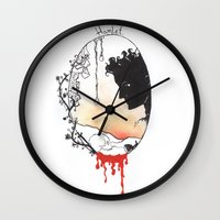 hamlet Wall Clocks featuring Hamlet by Gardensounds