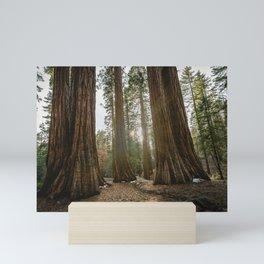 Sequoia National Park - Wanderlust Adventure Mini Art Print
