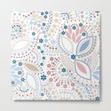 Colorful pattern of pastel light colors with beads by fuzzyfox85