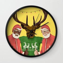 mery christmas! Wall Clock