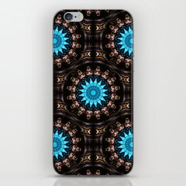 Stained Glass Starburst Pattern iPhone Skin