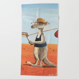 The Traveller Beach Towel