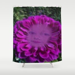 Let flowers speak Shower Curtain