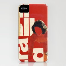 Red in the face iPhone (4, 4s) Slim Case