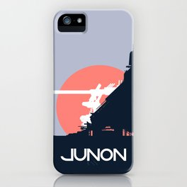 Final Fantasy VII - Visit Junon Propaganda Poster iPhone Case