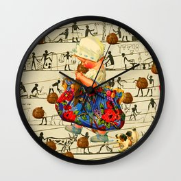 THE LITTLE LADY II Wall Clock