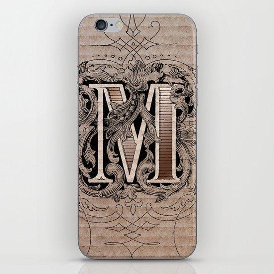 monogram m iPhone & iPod Skin