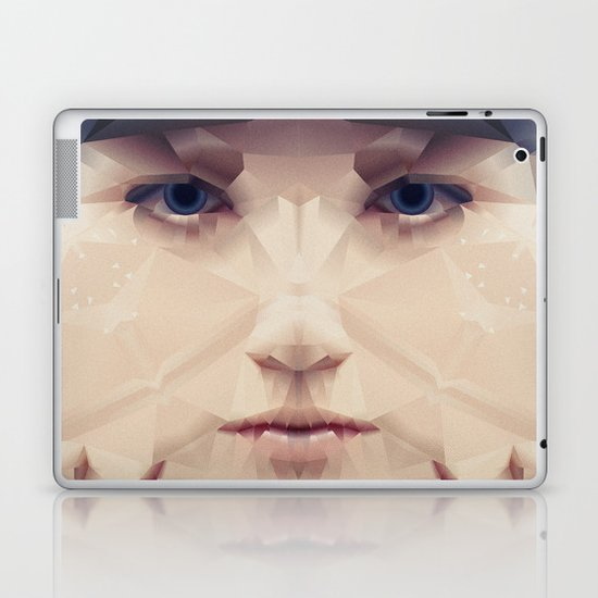 Facet_AB2 Laptop & iPad Skin