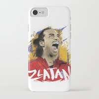 zlatan iPhone & iPod Cases featuring Zlatan by Conal Deeney