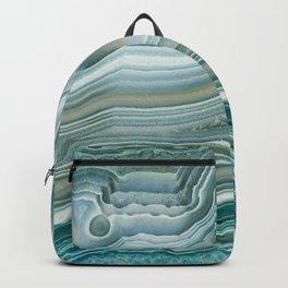 Agate Crystal Blue Backpack