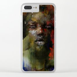 The Gospel singer Clear iPhone Case