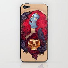 Raven iPhone Skin