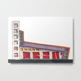 Geometric Architectural Design Illustration 99 Metal Print