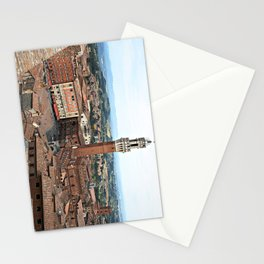 Siena, Italy from Above Stationery Cards
