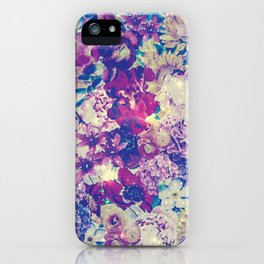Cool Toned Interstellar Blooms iPhone Case