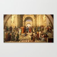 renaissance Canvas Prints featuring renaissance by Nechifor Ionut