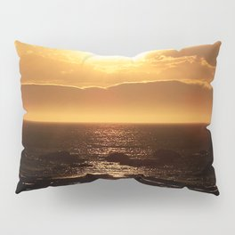 Silver lining on Clouds at Sunset Pillow Sham