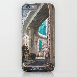 Hong Kong Street Bridge iPhone Case