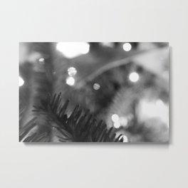 Blur//Brush Metal Print