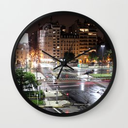 Buenos Aires Wall Clock