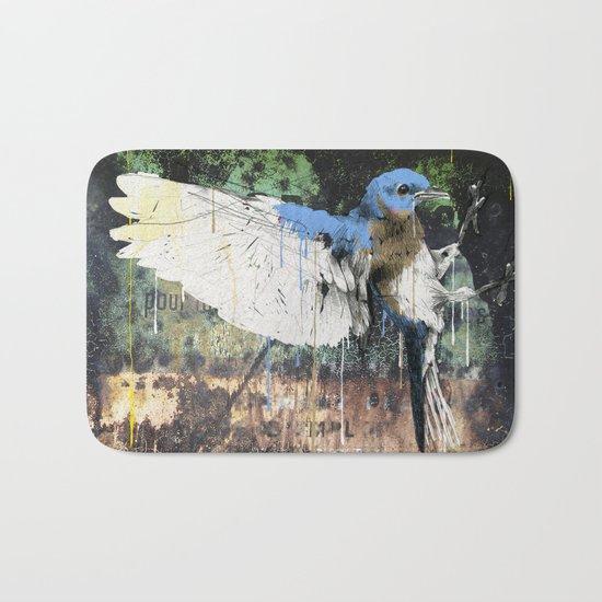 Woodpecker Bath Mat