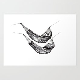 Check out my Hammocks! Art Print