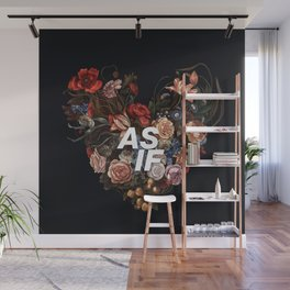 AS IF Wall Mural