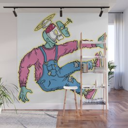 OPEN MINDED: LASER SPACER Wall Mural
