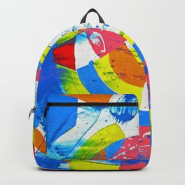 Composition #2 by Michael Moffa Backpack