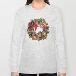 a-wreath-a Long Sleeve T-shirt