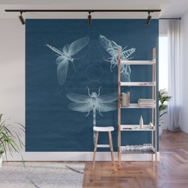 X-RAY Insect Magic Wall Mural