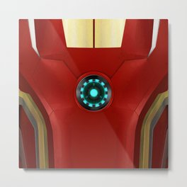 IRON MAN ARC REACTOR Metal Print