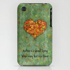 Autumn Flowers iPhone (3g, 3gs) Slim Case