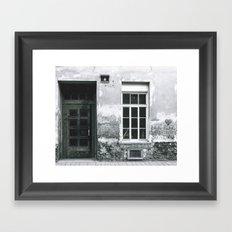 Der Strasse Framed Art Print