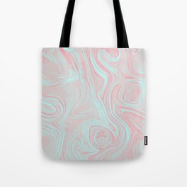 Pink oil spills Tote Bag