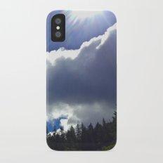 Sunny Clouds iPhone X Slim Case