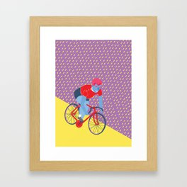 Bikerider  Framed Art Print