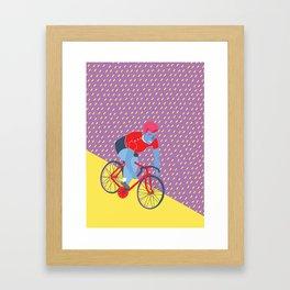 Bikerider  Framed Art Print