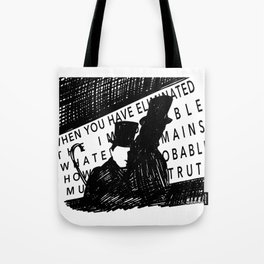 Eliminate the Impossible Tote Bag