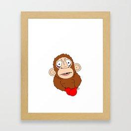 PunchDrunkMonkey Framed Art Print