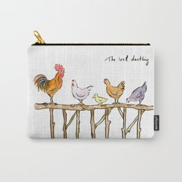 The lost duckling - chickens and duckling Carry-All Pouch