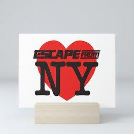 Love Escape From NY Mini Art Print