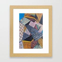 Little Pieces Framed Art Print