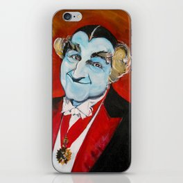 The Munsters Grandpa Munster iPhone Skin