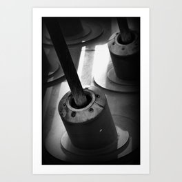 Industrial Stuff 3 Art Print